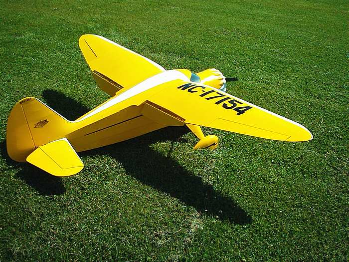 RC Model Airplane Covering