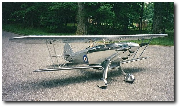 Faiey Fantome 1/5 scale RC airplane