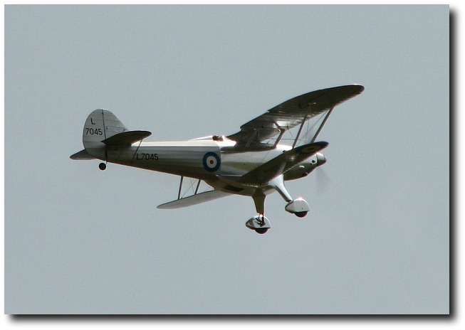 Fairey Fantome flying by