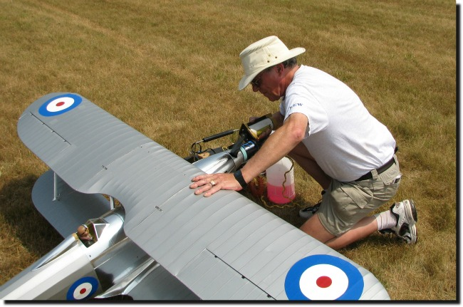 Starting up the Fairey Fantome