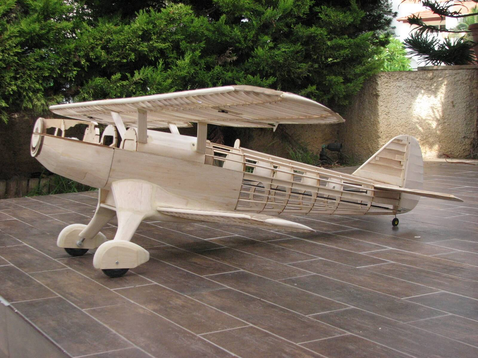 RC model of the Fairey Fantome: 1/5 full size:Completed construction.