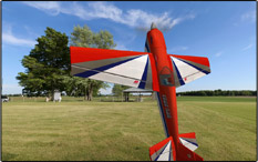 A model airplane simulator photo from FS ONe