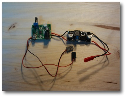 Mr RC Sound Amplifier/Regulator upgrade to allow 4 transducers