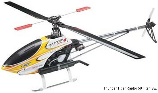 Thunder Tiger Raptor 50 Titan SE