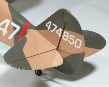 Top Flite P-40 tail