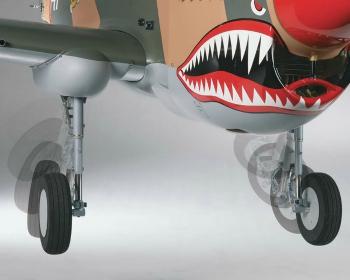 Top Flite P-40 pneumatic retracts