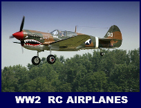 WW2 RC Airplanes Ad.