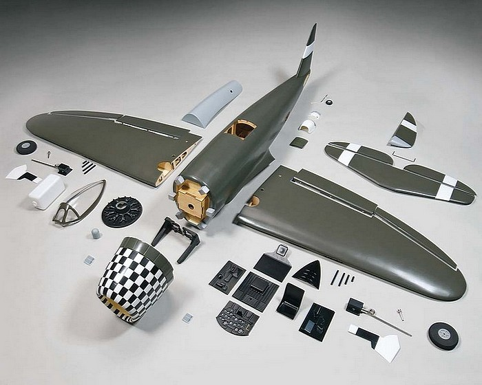 Top Flite P-47 60 size ARF parts