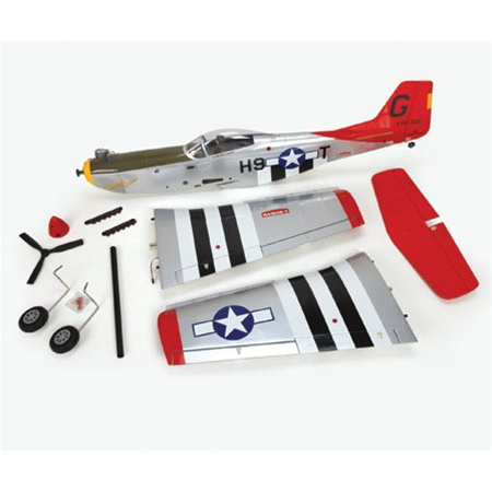 The Hanger 9 P-51 Mustang,as it comes