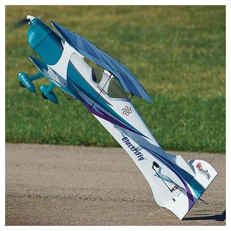 The Park Flyer. Great Planes Reactor Bipe EP 3D.