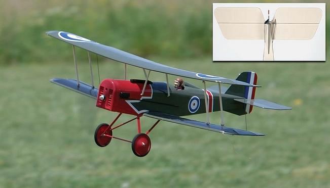The Great Planes SE5a park flyer. - Scale Park Flyers.