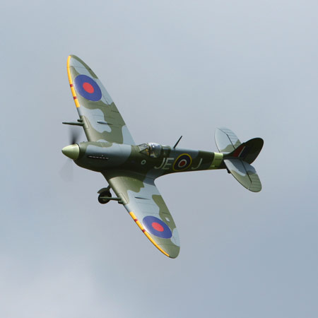 Parkzone Spitfire flying