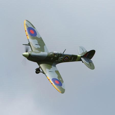 Parkzone Spitfire flying