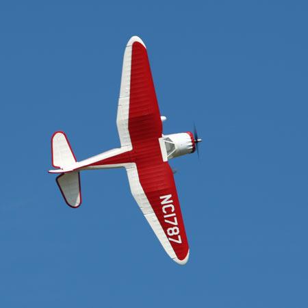 Parkzone Stinson Reliant flying