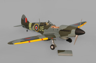 Phoenix Models Spitfire 50-61cc:View with hatch removed,