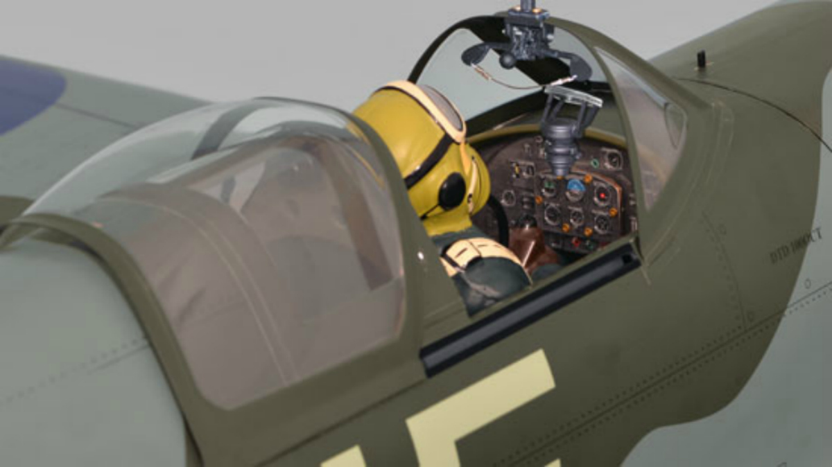 The Phoenix Spitfire ARF 50-61cc 1:4 3/4 scale