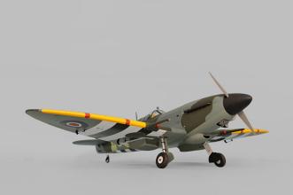 Phoenix Models Spitfire 50-61cc:3/4 front view.