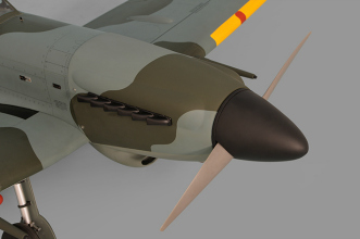 Phoenix Models Spitfire 50-61cc:Nose and spinner