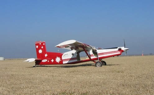 RC Pilatus Turbo Porter PC-6:Side view.