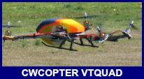 CWCopter VTQuad flying