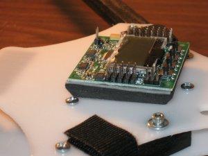 CW Quadrotor board mounted
