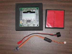CW Quadrotor circuit board