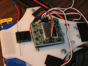 Cw Quadrotor receiver