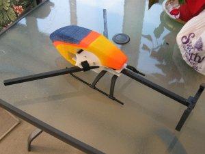 CW Quadrotor canopy