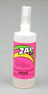 Pacer Zap thin adhesive