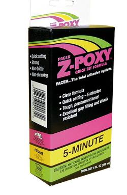 Pacer Z-Poxy 5 minute Epoxy