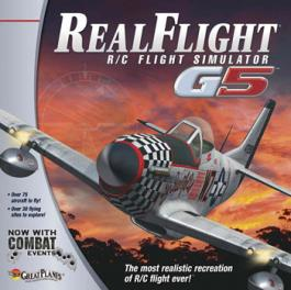 RC Airplane Simulator. The Great Planes Realflight G5.