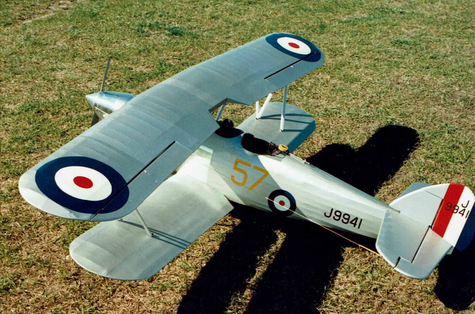 1/5 scale RC Hawker Hart