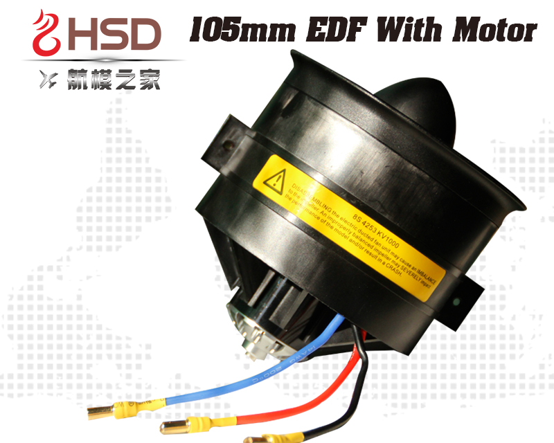HSD 105mm EDF with motor