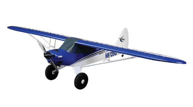 Overall view of the E-Flite Carbon-Z Cub