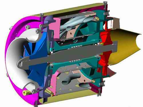RC jet engines simplified.