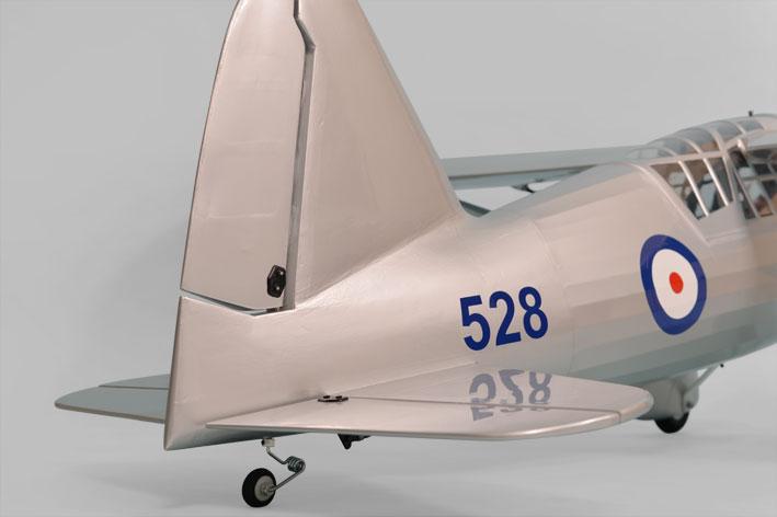 Phoenix Westland Lysander 46 tail section.