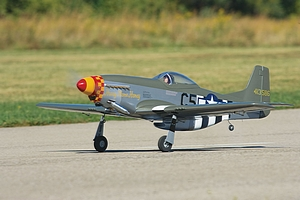 RC P-51 Mustang
