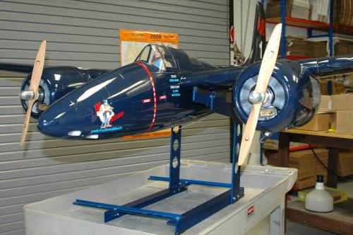 The EZ Balancer RC Plane CG Balancer.