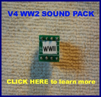 WW2 engine sound pack for Mr RC Sound V4.1 base unit