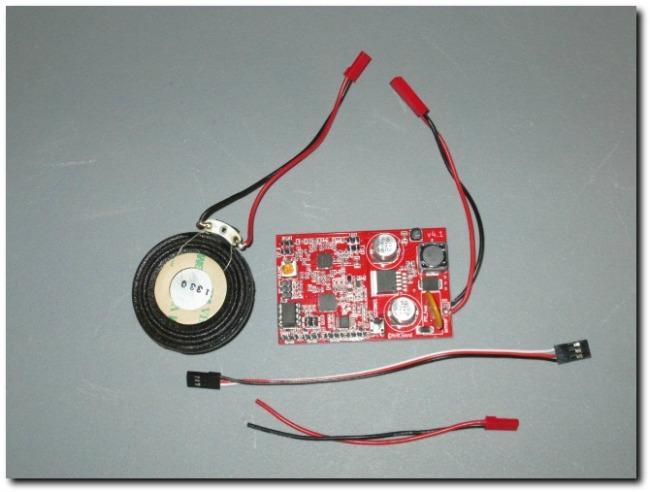 Mr RC Sound V4.1 unit
