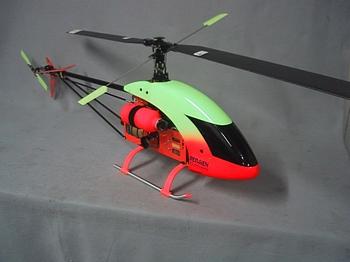 Bergen 44 Magnum turbine helicopter
