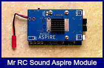 The Mr RC Sound Aspire module