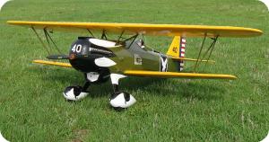 Rc Curtiss P-6E Hawk