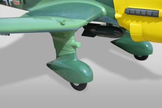 Phoenix Models RC Stuka: Wheel pants and leg fairings