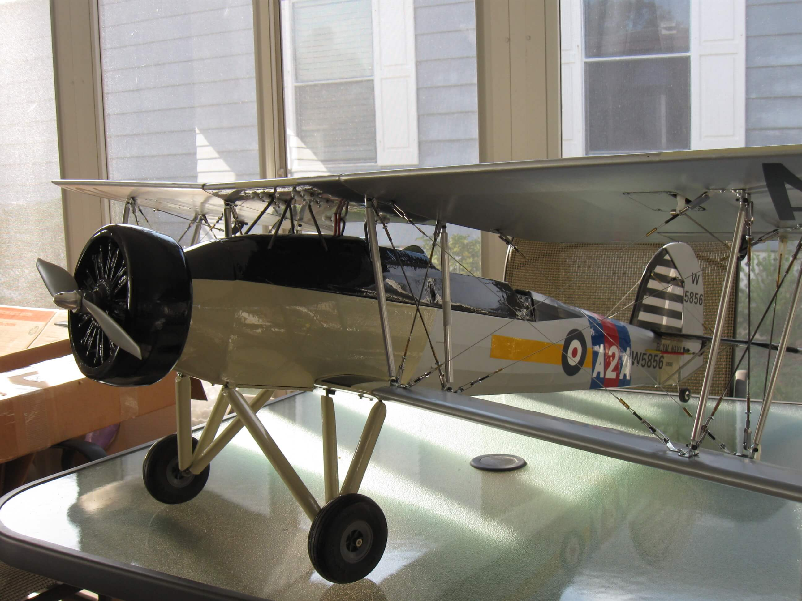 RC Fairey Swordfish: Ready for first flight