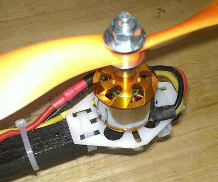 CW Tricopter motor