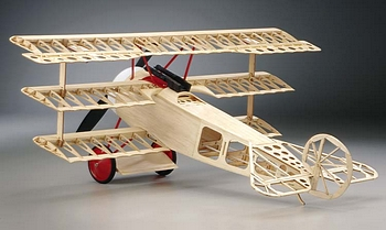 The Fokker Triplane basic structure