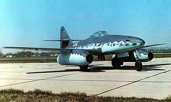 The Messerschmitt ME-262 WW2 Jet Fighter