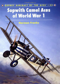 Sopwith camel Aces of World War 1 book cover