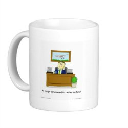 Cartoon mug